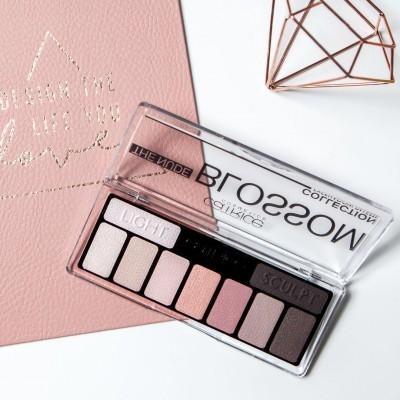 Тени для век CATRICE The Nude Blossom Collection Eyeshadow Palette 010 розовый нюд: фото