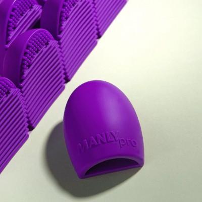 Мини-перчатка для мойки кистей Brush Egg Manly Pro КО01: фото