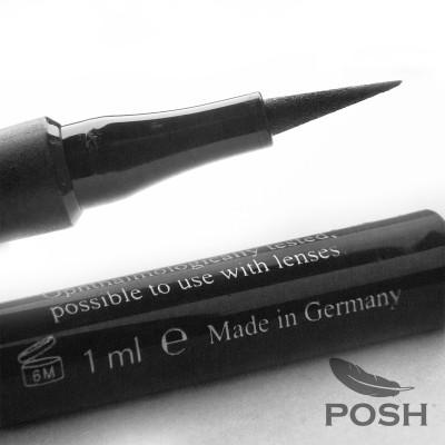 Подводка-фломастер водостойкая POSH черная: фото