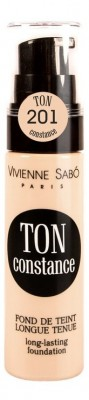 Устойчивый тональный крем Vivienne Sabo/ Long Lasting Foundation/ Fond de teint longue tenue Ton Constance тон/shade 201: фото