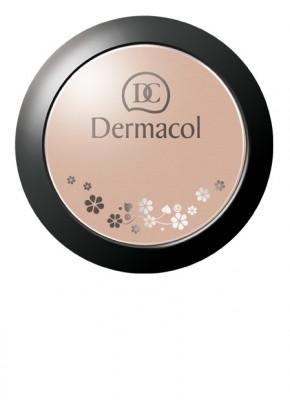 Минеральная матирующая пудра Dermacol Mineral Compact Powder тон 1: фото