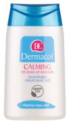 Успокаивающее средство для снятия макияжа с глаз Dermacol Calming eye make-up remover: фото