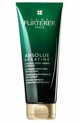 Восстанавливающий шампунь для экстремально поврежденных, ломких волос Rene Furterer Absolue Keratine 200 мл: фото