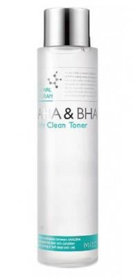 Тонер для лица MIZON AHA & BHA Daily Clean Toner: фото