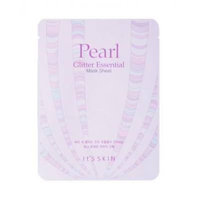 Тканевая маска жемчужная It's Skin Glitter Essential Mask Sheet 22г: фото