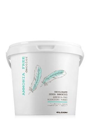 Обесцвечивающий порошок супра безаммиачная ELGON DE-COLOR AMMONIA FREE, 500 гр: фото