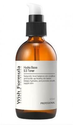Слабокислотный тонер pH5.5 c ягодным комплексом WISH FORMULA Hydra pH 5.5 Toner 105мл: фото