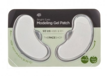 Патчи под глаза осветляющие THE FACE SHOP Bright Eyes Modeling Gel Patch: фото