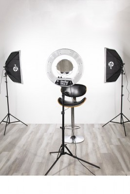 Комплект Stellar Gemini Photo/Video Kit + Stellar Diva II Ring Light 18 Inch: фото