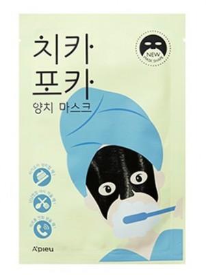 Тканевая маска для лица утренняя A'PIEU Chi Ka Po Ka Tooth Brushing Mask: фото