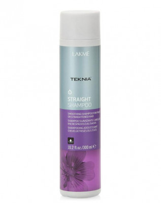 Шампунь для гладкости вьющихся или химически выпрямленных волос LAKMÉ STRAIGHT SHAMPOO 300мл: фото