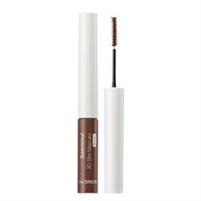 Тушь THE SAEM Saemmul 3D Slim Mascara - Brown 4гр: фото