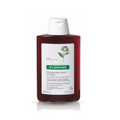 Шампунь с экстрактом Хинина укрепляющий Klorane Thinning Hair 200 мл: фото