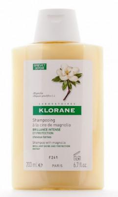 Шампунь с воском Магнолии для интенсивного блеска и защиты тусклых волос Klorane Dull Hair 200 мл: фото