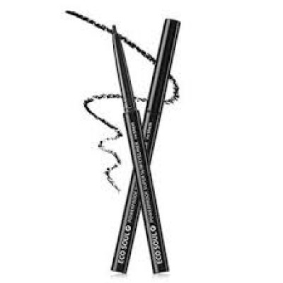Подводка для глаз тонкая THE SAEM ECO SOUL Powerproof Super Slim Eyeliner BK01 Black 0,1гр: фото