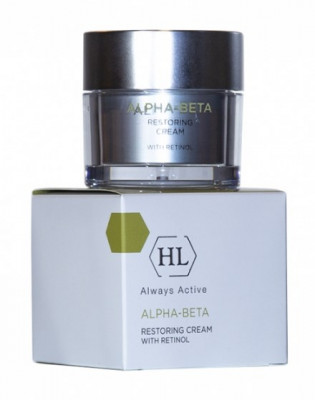 Крем восстанавливающий Holy Land Alpha-Beta & Retinol Restoring Cream 50 мл: фото