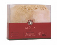 Мыло с люфой Дамасский гранат и личи Gloria Home SPA 100 г: фото