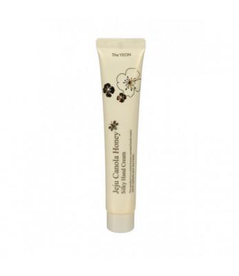 Крем для рук с экстрактом меда канола TheYEON Jeju Canola Honey Silky Hand Cream 50мл: фото