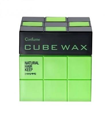 Воск для укладки волос Welcos Confume Cube Wax Natural Hair Keep 80г: фото