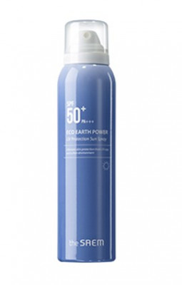 Спрей солнцезащитный THE SAEM Eco Earth Power UV Protection Sun Spray SPF50+ PA+++ 120мл: фото