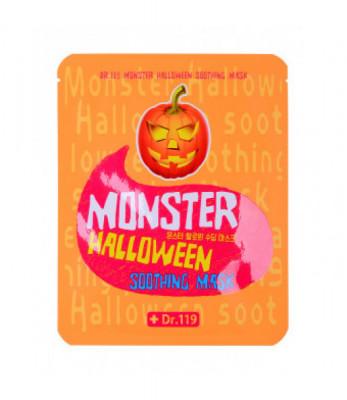 Маска для лица успокаивающая Baviphat Dr.119 Monster Halloween soothing Mask 25мл: фото