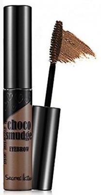 Гель-фиксатор для бровей темный шоколад SECRET KEY Choco Smudge Eyebrow Dark Choco 5г: фото