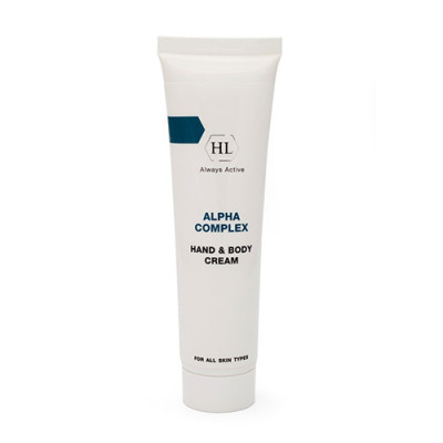 Крем для рук и тела Holy Land Alpha Complex HAND&BODY CREAM 100мл: фото