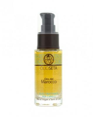 Масло-уход с маслом арганы и маслом семян льна Barex Oil Treatment Treatment Blonde-Fine Hair 30мл: фото