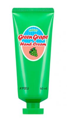 Крем для рук A'PIEU GREEN GRAPE HAND CREAM 60мл: фото