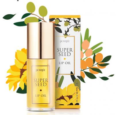 Масло для губ питательное PETITFEE Super Seed Lip Oil 5г: фото