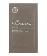 Патчи для носа с алоэ вера THE FACE SHOP Jeju Volcanic Lava Aloe Nose Strips: фото