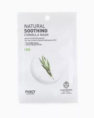 Маска для лица тканевая FASCY Natural soothing formula mask 23г: фото