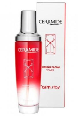 Тонер укрепляющий с керамидами FarmStay Ceramide Firming Facial 130мл: фото