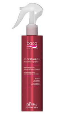 Спрей для стабилизации уровня pH волос Kaaral COLORSPLASH 3,5pH Stabilizing Spray 200мл: фото