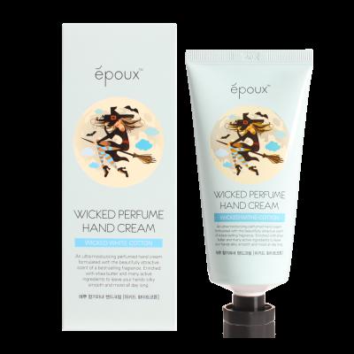 Крем для рук с хлопком Epoux Wicked Perfume Hand Cream Wicked White Cotton 80 мл: фото