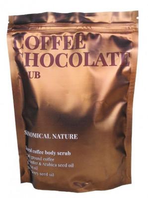 Скраб для тела Кофе и шоколад Skinomical Natural Coffee Chocolate Scrub 250г: фото