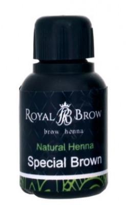 Хна для бровей Royal Brow Special Brown, Специальный коричневый 15мл: фото