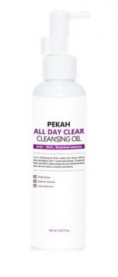 Гидрофильное масло для лица c кислотами PEKAH All Day Clear Cleansing Oil 150 мл: фото
