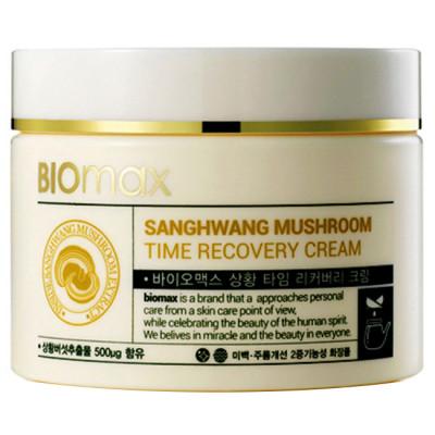 Крем для лица с экстрактом гриба санхван Sanghwang Mushroom Time Recovery Cream 100 мл: фото
