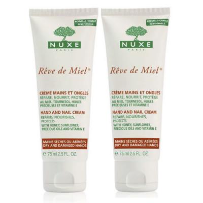 Набор: Крем для рук и ногтей Nuxe REVE DE MIEL 50 мл*2: фото