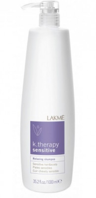Шампунь успокаивающий для чувствительной кожи головы LAKMÉ RELAXING SHAMPOO SENSITIVE H&S 1000мл: фото