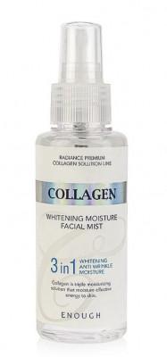 Мист для лица отбеливающий Enough Collagen Whitening Moisture Facial Mist 3in1 100мл: фото