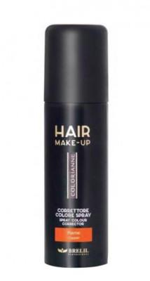 Спрей-макияж для волос Brelil Hair Make-Up Colorianne медный 75 мл: фото