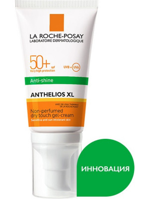 Гель-крем матирующий с AIRLICIUM La Roche-Posay Anthelios SPF50+ 50мл: фото